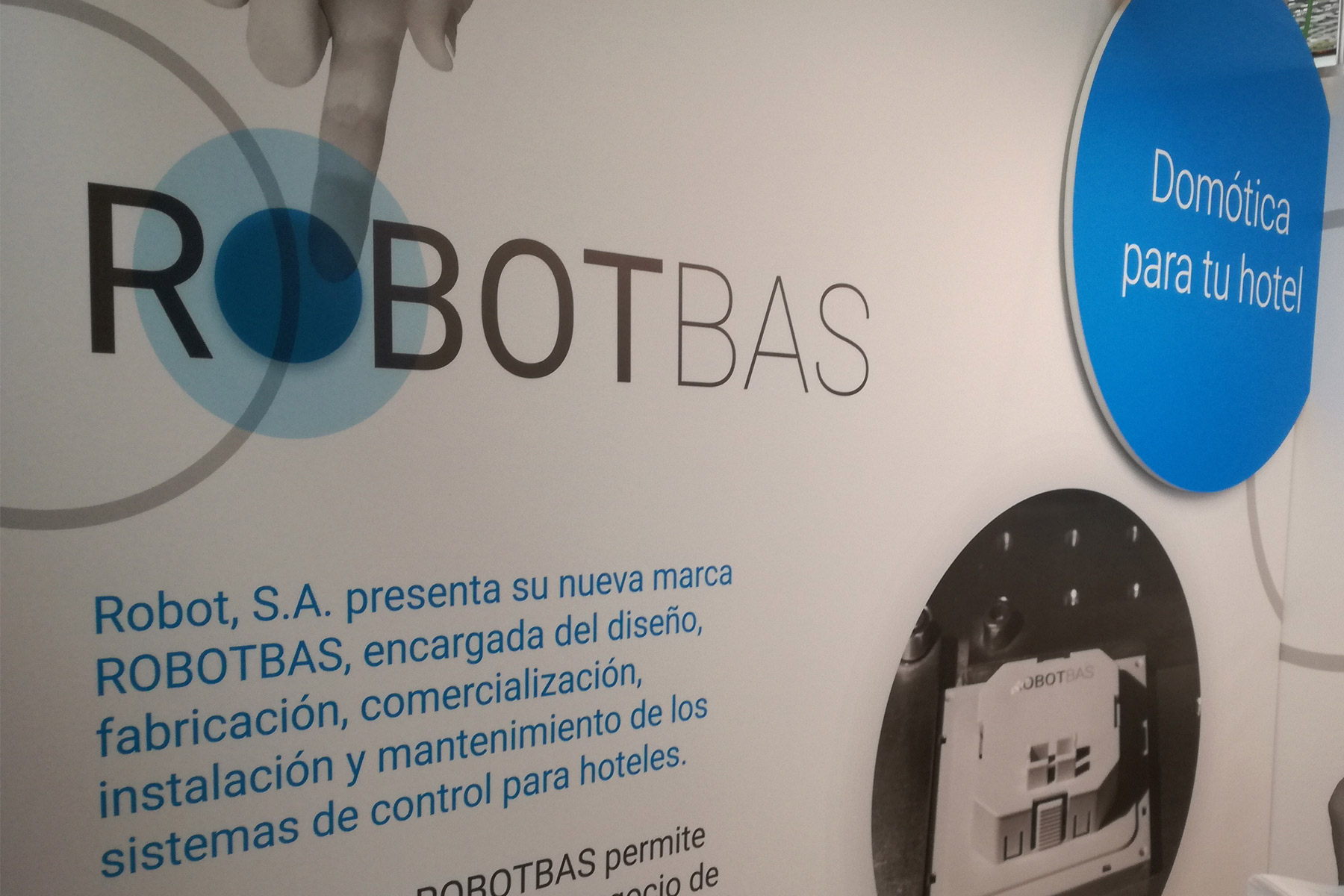 Robot, S.A. launches its new brand ROBOTBAS