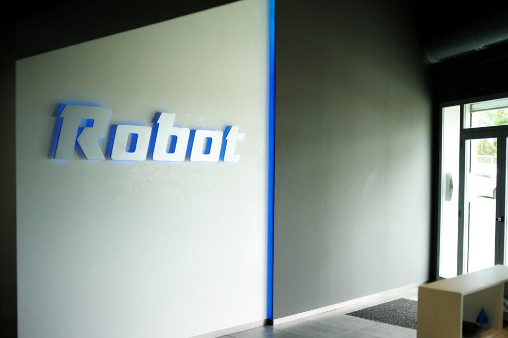 entrada de robot