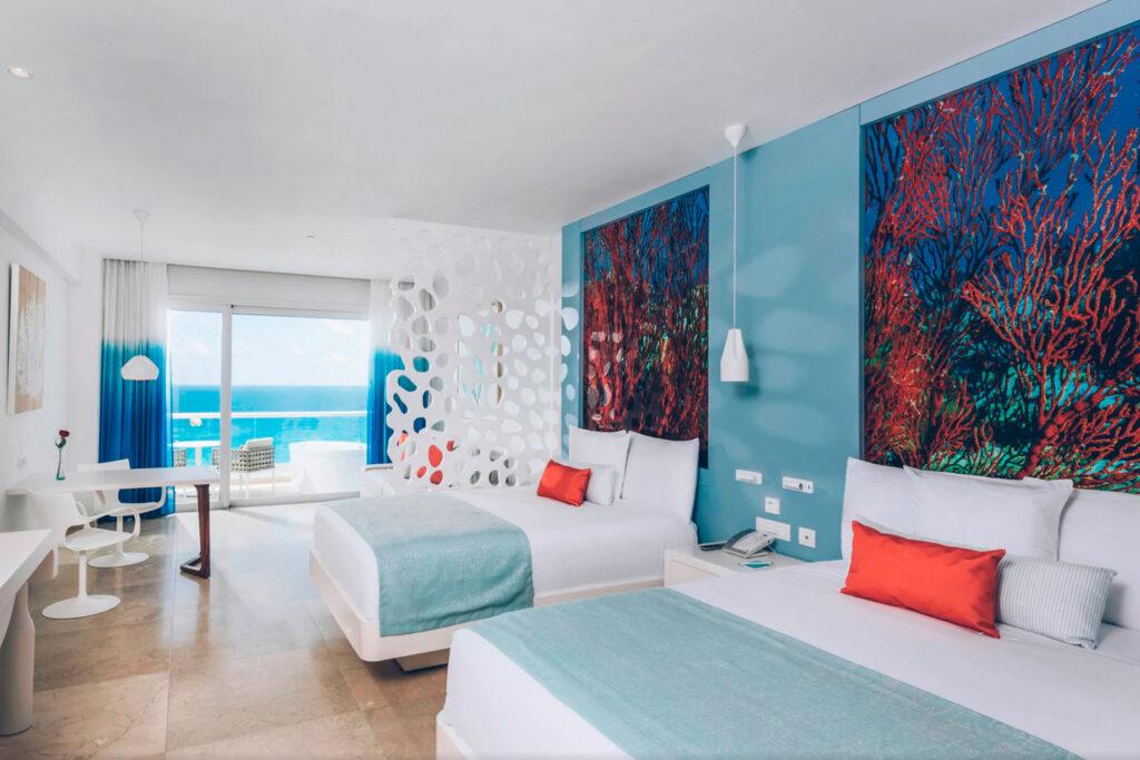habitacion del iberostar cancun