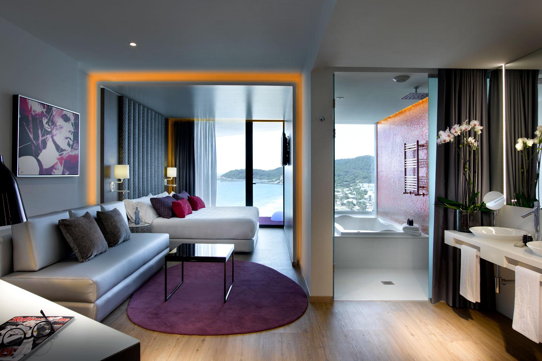 suite del hotel hard rock