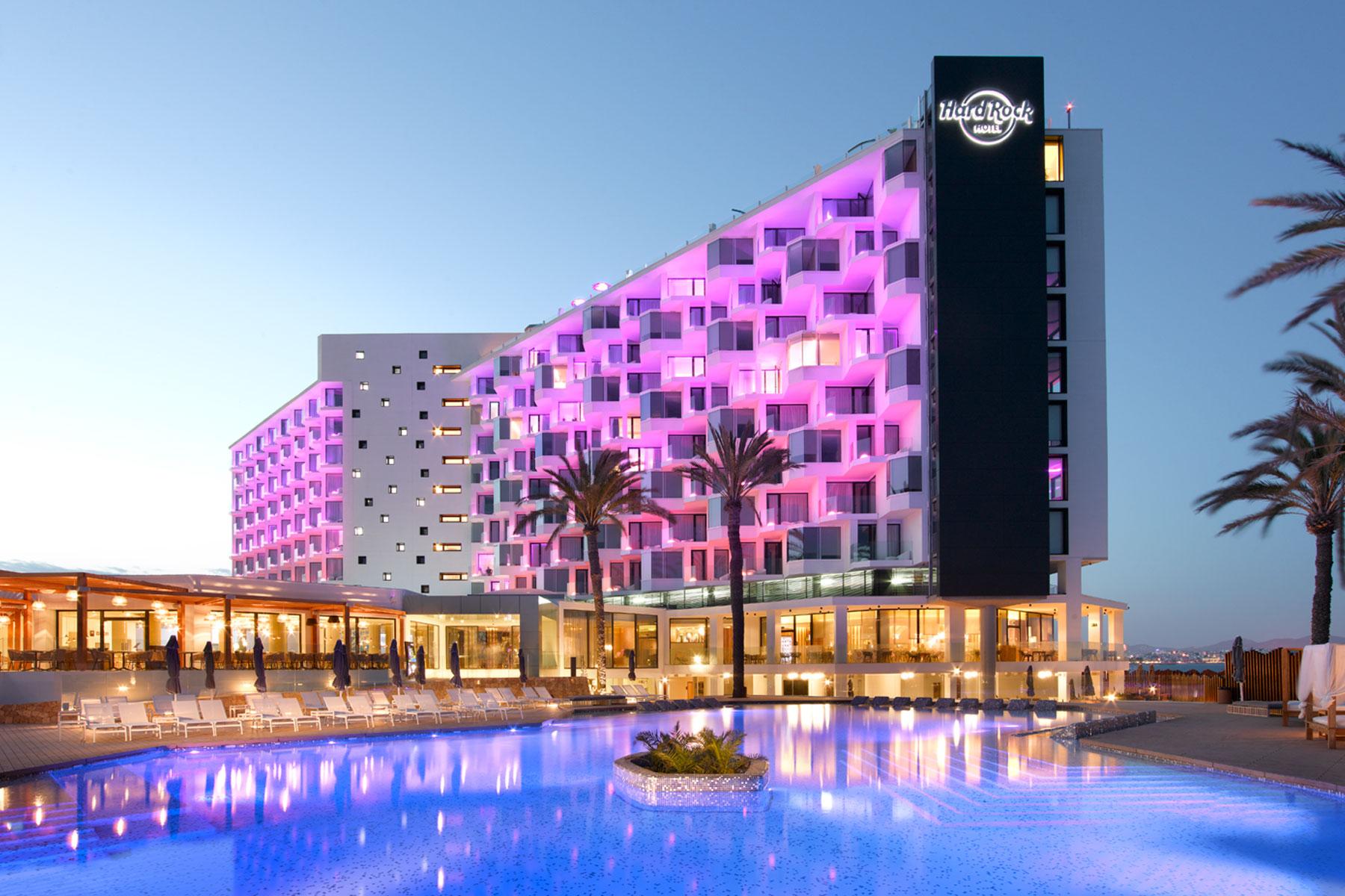 Hard Rock Resort Ibiza, Robot new's project