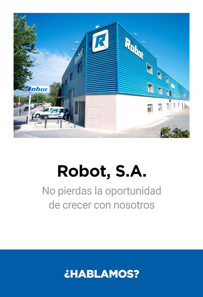 contactar con el equipo de robot